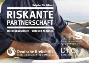 Broschüre Riskante Partnerschaft Alkohol, DHS