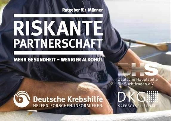 Broschüre Riskante Partnerschaft - Weniger Alkohol, mehr Gesundheit