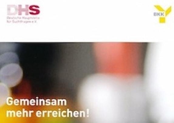Broschüre Gemeinsam mehr erreichen, für Frauen mit Medikamentenproblemen