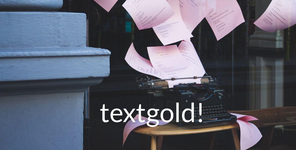 Startseite textgold – Karen Hartig Journalistin und Autorin in Köln